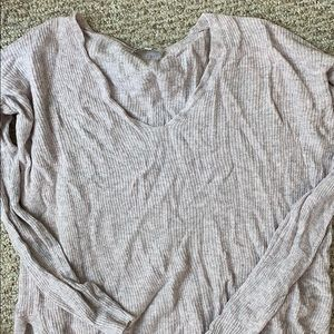 Madewell violet sweater